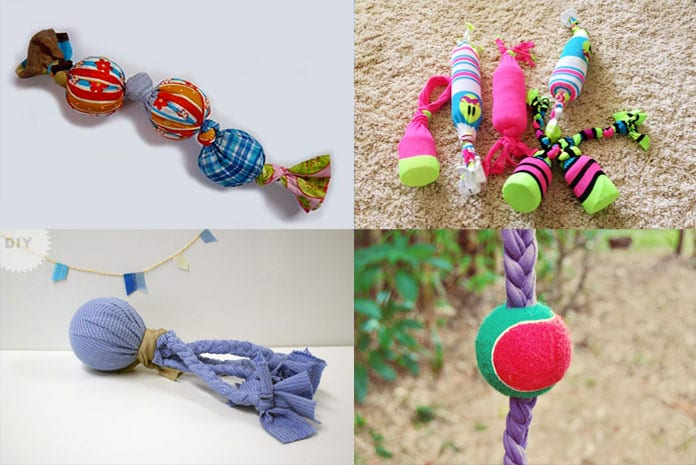 How to Make DIY Dog Toys